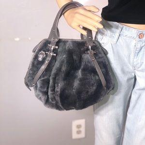 LETIZIA GENUINE SHEARLING FUR bag